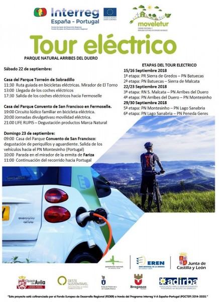 Programa tour electrico Arribes