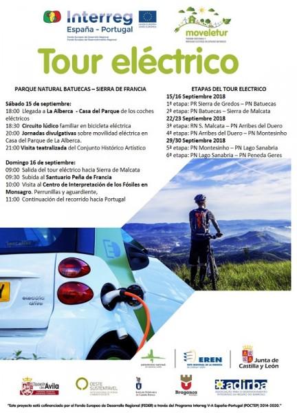 Programa tour electrico Batuecas