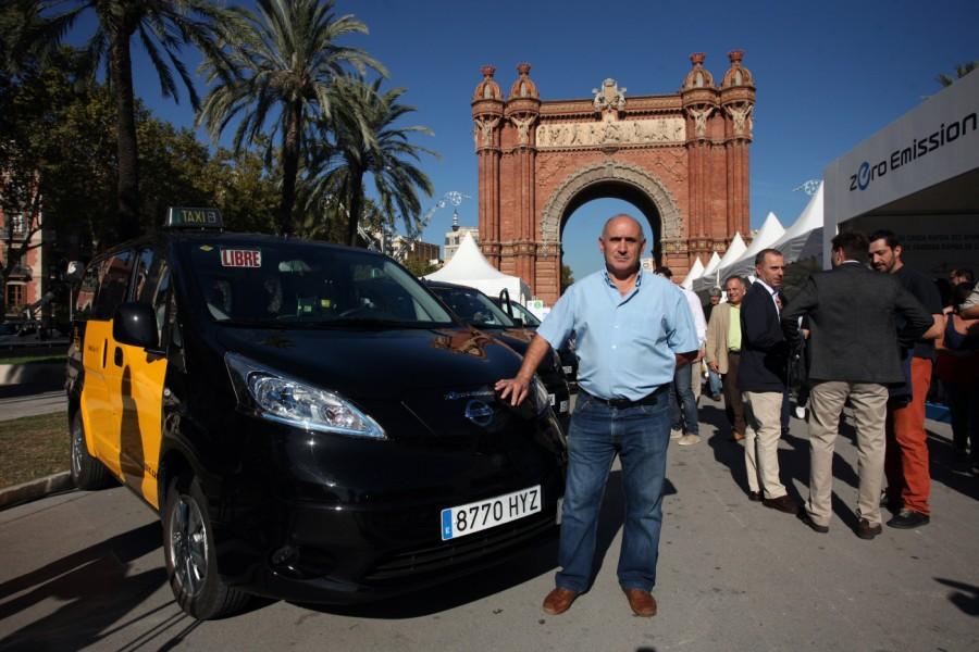 entrega taxi eléctrico