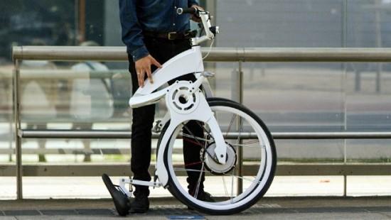 Gi FlyBike, la primera bicicleta eléctrica plegable