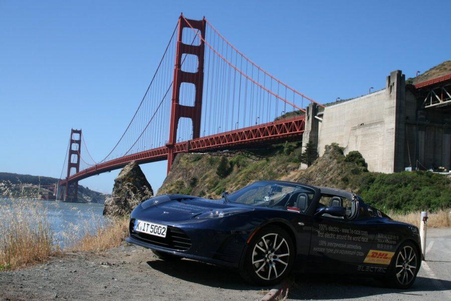 Tesla Roadster de Rafael de Mestre