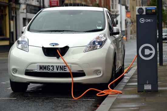 Nissan Leaf electric-car