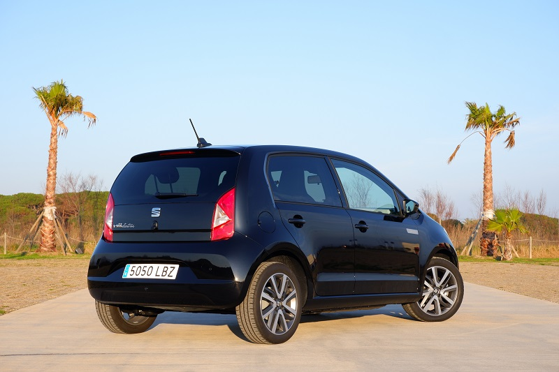 Seat Mii Electric carga en AC hasta 3,6 kW en monofásica y 7,2 kW en trifásica