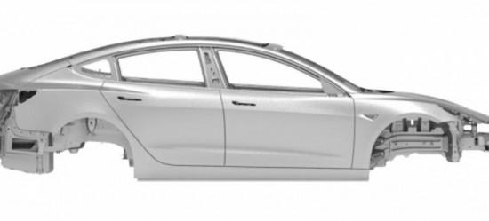 tesla-model-3-estructura