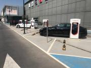 Foto 2 del punto Supercargador Tesla Murcia
