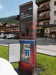 Foto 1 del punto Madonna di Campiglio Audi Charge Station
