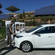 Foto 4 del punto Supercargador Tesla Ariza