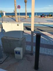 Foto 1 del punto parking paseo marítimo albir