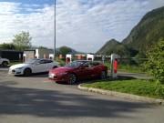 Foto 2 del punto Tesla Superlader Mosjøen