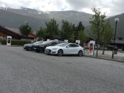 Foto 3 del punto Tesla Superladestasjon Bismo, Skjåk