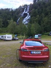 Foto 1 del punto Tvindefossen Camping