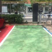 Foto 1 del punto Zona azul al lado ayuntamiento de Castelldefels