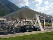 Foto 6 del punto Aosta Tesla Supercharger