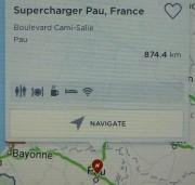 Foto 5 del punto Kyriad Hotel Tesla supercharger