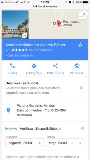 Foto 1 del punto Hotel Anantara Vilamoura Algarve
