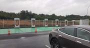 Foto 4 del punto Kyriad Hotel Tesla supercharger