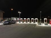 Foto 2 del punto Tesla Superladerstasjon Klett, Leinsand