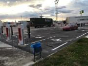 Foto 6 del punto Tesla Supercharger Guarromán