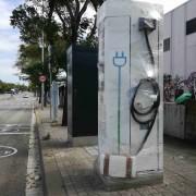 Foto 7 del punto Electrolinera AMB 09 - carrer Arquímedes - Barberà del Vallès