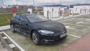 Foto 1 del punto Supercargador Tesla Rivabellosa