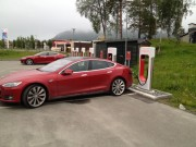 Foto 1 del punto Tesla Superladerstasjon Bardu