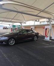 Foto 5 del punto Tesla Supercharger Almaraz