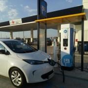 Foto 1 del punto Estación de recarga IBIL Gasolinera Repsol Alovera