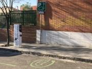 Foto 2 del punto Punt de recàrrega públic Ripollet - (C/ Escoles)