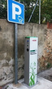 Foto 1 del punto Poste de recarga Vilassar de Mar