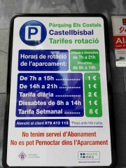 Foto 1 del punto Parking Els Costals