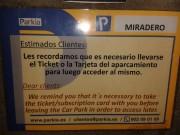 Foto 31 del punto Parking El Miradero