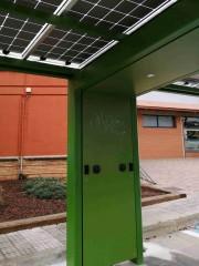 Foto 3 del punto Pèrgola solar Masies de Voltregà