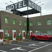 Foto 14 del punto Tesla Supercharger Lleida