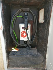 Foto 1 del punto MIEMBRO AUVE cargador toma j1772