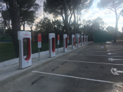 Foto 8 del punto Tesla Supercharger Tordesillas