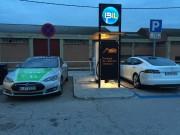 Foto 3 del punto Estación de recarga IBIL Gasolinera Repsol Alovera