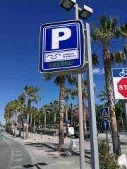 Foto 6 del punto Parking La Marina de València - Veles e Vents