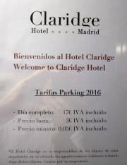 Foto 1 del punto Hotel Claridge (Tesla DC)