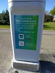 Foto 4 del punto Electrolinera AMB 06 (L) - carrer Salvador Espriu - l'Hospitalet de Llobregat