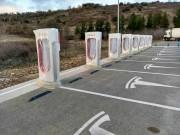 Foto 8 del punto Tesla Supercharger Bembibre