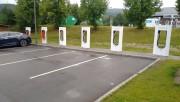 Foto 2 del punto Tesla Superladerstasjon, Lillehammer