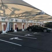 Foto 1 del punto Tesla Supercharger Almaraz