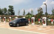 Foto 7 del punto Supercargador Tesla Caldes Malavella