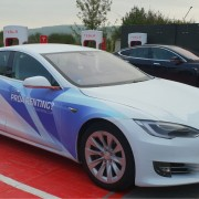 Foto 1 del punto Supercargador Tesla Girona