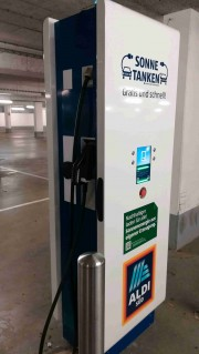 Foto 4 del punto Ladestation Smart ALDI SÜD