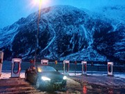 Foto 1 del punto Tesla Superlader Mosjøen