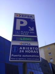 Foto 1 del punto Plaza del Pilar - Antiguos Juzgados