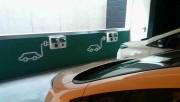 Foto 2 del punto Parking Mondragones (1 Mennekes 32A + 1 Mennekes 16A + 2 Schuko)