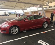 Foto 2 del punto Tesla Supercharger Almaraz