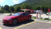 Foto 2 del punto Monte Ceneri Tesla Supercharger